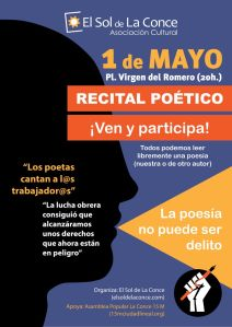 cartel recital poetico