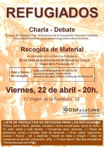 """Charla-debate """"Refugiados"""""""