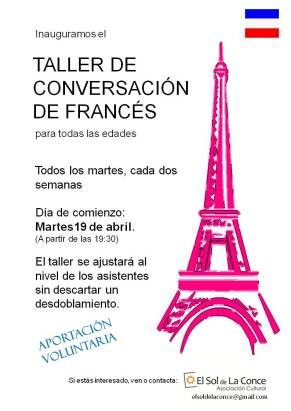 Taller de conversación de francés