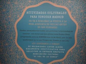 Visita a la Academia de Bellas Artes
