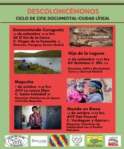 Ciclo de documentales: descolonicémonos