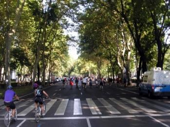 Resultado de imagen de ruta en bici paseo del prado
