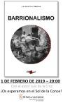 """Presentación del libro """"Barrionalismo"""""""