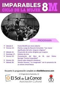 3. cartel programación ciclo mujer