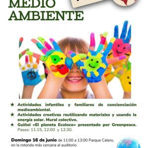 Actividad infantil. Domingo 16