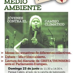 Jóvenes y Cambio Climático. Domingo 23
